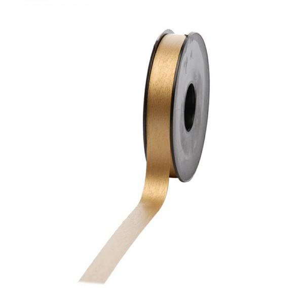 Polyband matt 16mm 45Meter gold