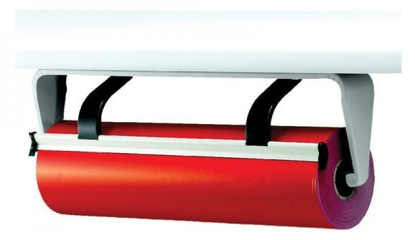 Untertischabroller 75 cm hellgrau gezahntes Messer