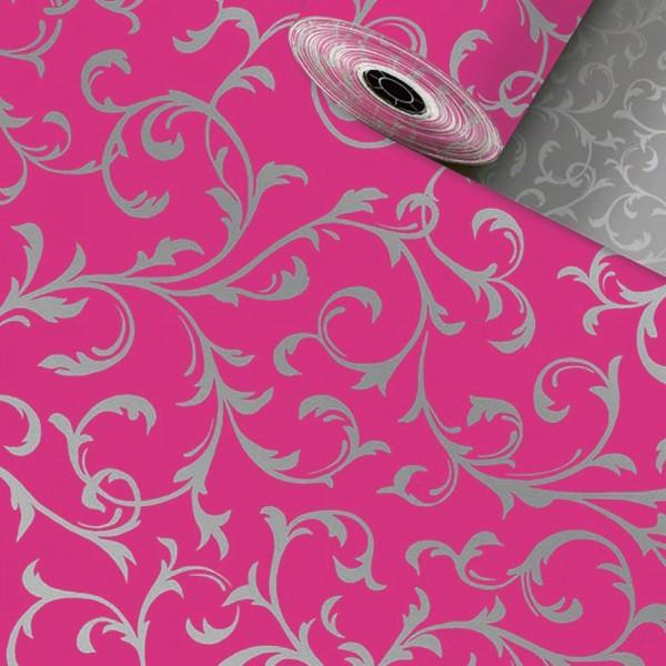 Geschenkpapier-Rolle 30cm 250Meter Ornament Pink