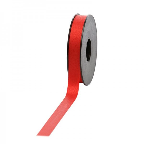 Polyband matt 16mm 45Meter rot