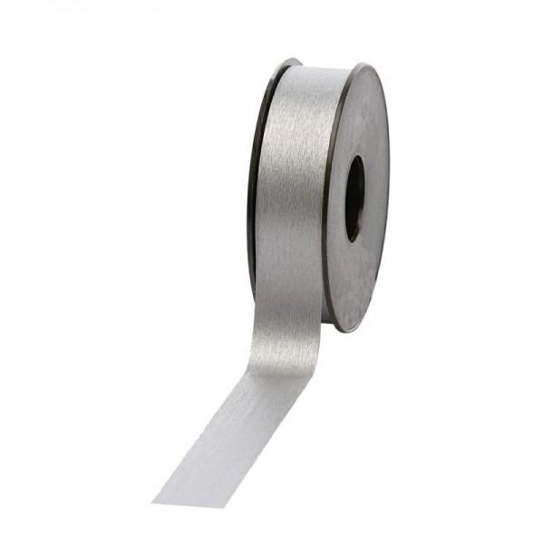 Polyband matt 25mm 45Meter silber