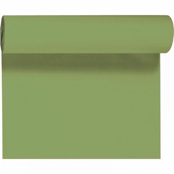 DUNI Tete-A-Tete Tischläufer Dunicel Leaf Green