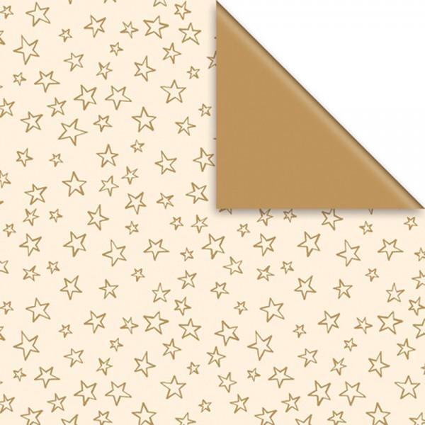 Geschenkpapier Rolle 50cm 50m Limar creme