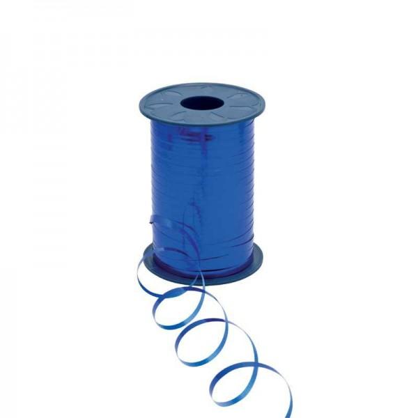 Polyband metallic 5mm 400Meter blau