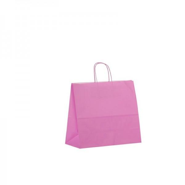 Papier Tragetaschen 32x13x28cm pink
