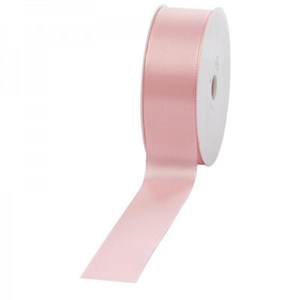 Geschenkband Stoff 40mm / 50Meter rosa