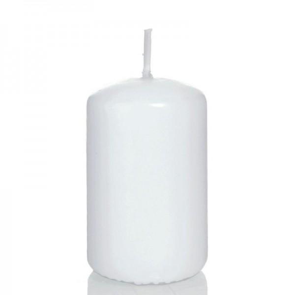 Stumpenkerze 200 mm Ø 80 mm weiß