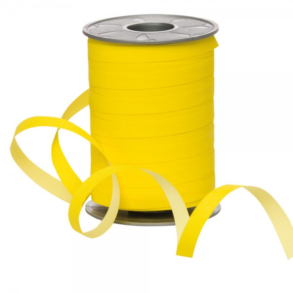 Polyband Bicolour 10mm 200Meter gelb / hellgelb
