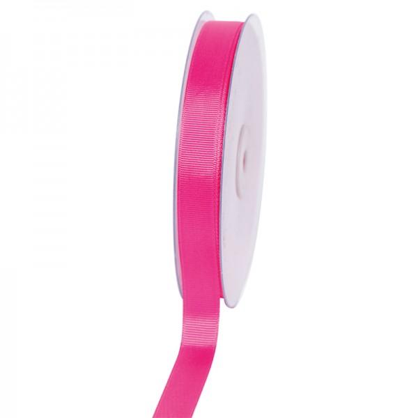 Geschenkband Grosgrain 16 mm/50Meter pink