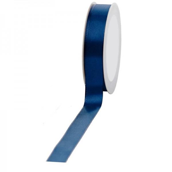 Geschenkband Stoff 25mm / 50Meter dunkelblau