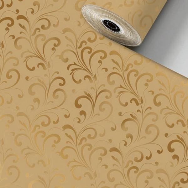 Geschenkpapier Rolle 70cm 250Meter Baroa braun