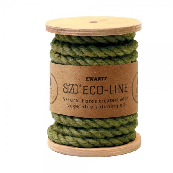 Jute Kordel 7mm 5m Olive