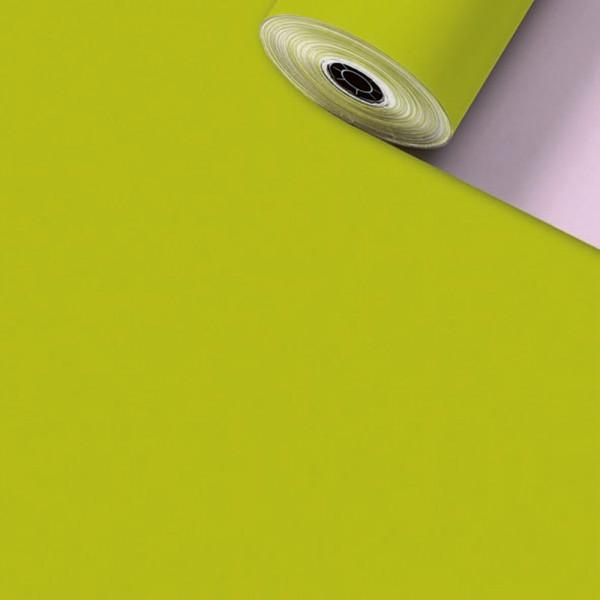 Geschenkpapier Rolle 50cm 200Meter Uni Matt kiwi/rosa