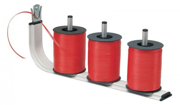 Bandrollenhalter 416 mm Breite für 3 Spulen