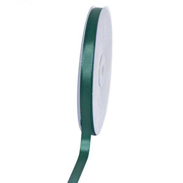Geschenkband Grosgrain 9 mm/50Meter jägergrün