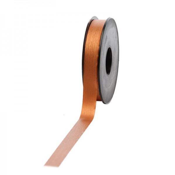 Polyband matt 16mm 45Meter kupfer
