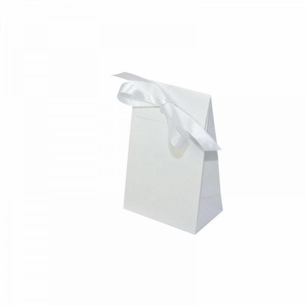 Geschenktasche weiß 100x60x157+42 mm