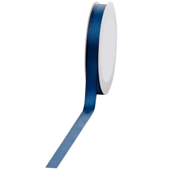 Geschenkband Stoff 15mm / 50Meter dunkelblau