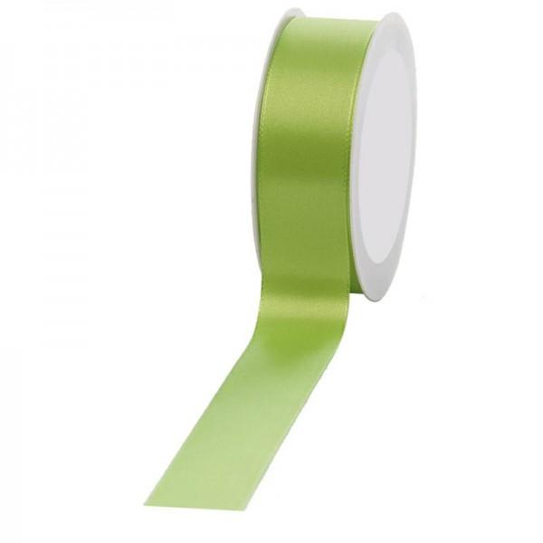 Geschenkband Stoff 40mm / 50Meter hellgrün